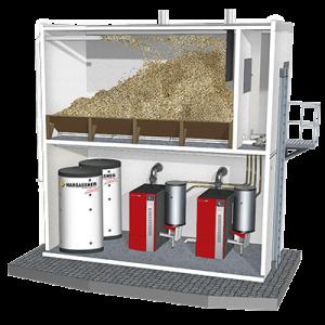 Container avec 2 EcoPK