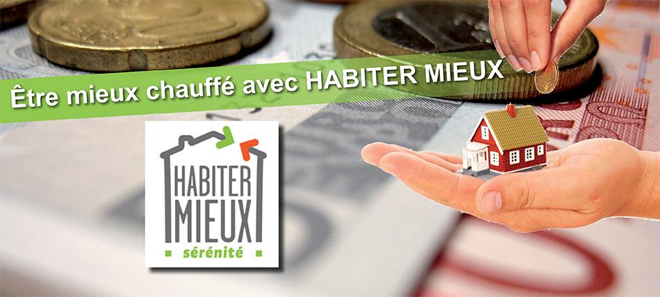 Le programme HABITER MIEUX sérénité, c'est un accompagnement conseil et une aide financière pour vous aider dans votre projet de rénovation globale de votre logement.