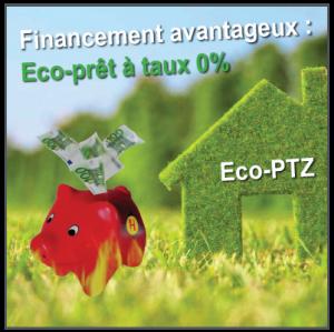 Financement des travaux : Eco-Prêt à taux 0