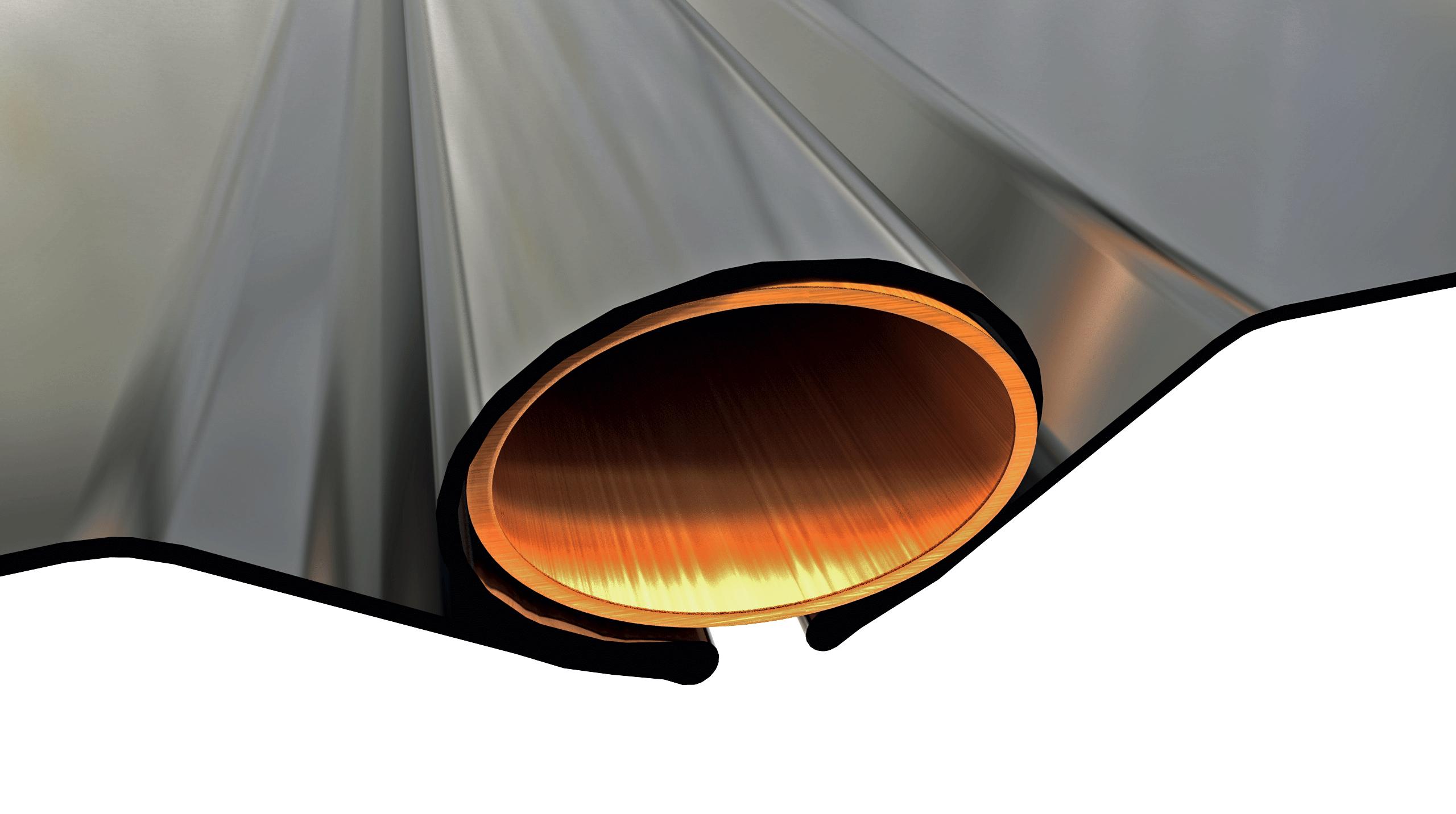 tubes de cuivre